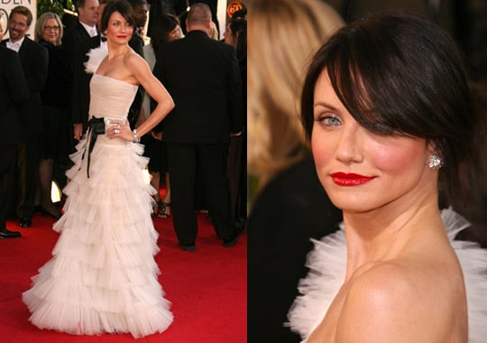 The Golden Globes Red Carpet: Cameron Diaz