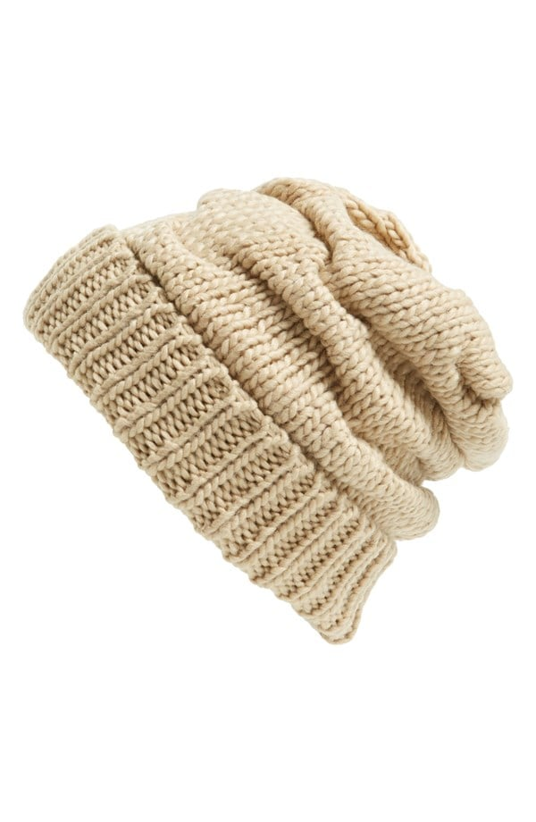 Leith Knit Slouch Beanie
