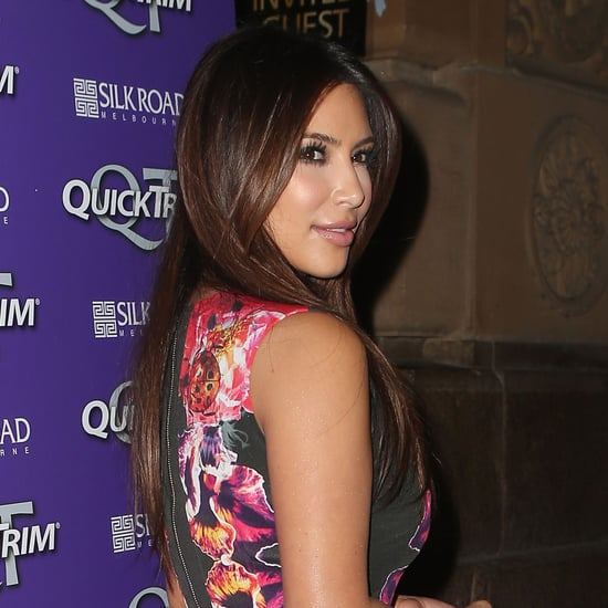 Photos of Kim Kardashian in Sydney and Melbourne for Quick Trim