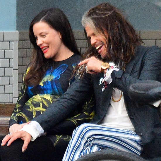 Steven Tyler and Liv Tyler Out in NYC June 2016