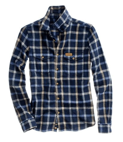 Penfield Kuffman Plaid Flannel