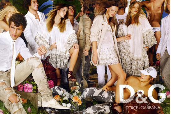 Fab Ad: D&G Dolce & Gabbana Spring/Summer '08