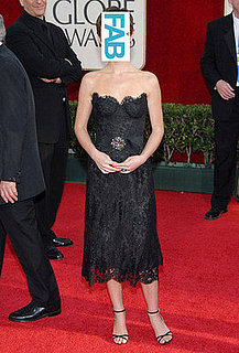 Guess Who Wore a Vintage Chanel LBD to the Golden Globes in 2006?