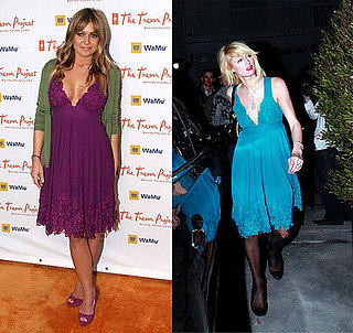 Who Wore It Better? Catherine Malandrino Deep V Dress