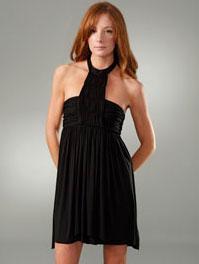 The Look for Less: LaRok Cannes T-Neck Halter Dress