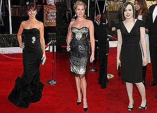 Did These Ladies Play It Safe in LBDs at the SAGs?