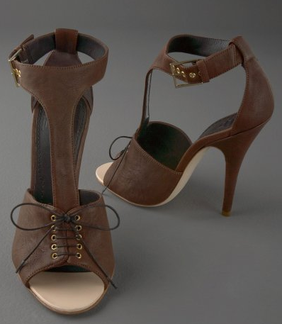 March Shopping Madness: Lace-Up Heels