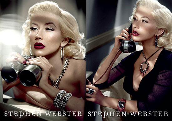 Fab Ad: Christina Aguilera For Stephen Webster