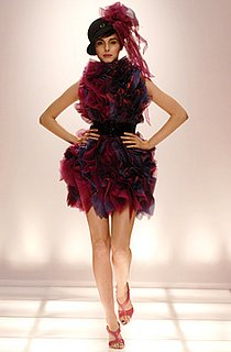 Christian Siriano Red and Purple Ruffle Dress: Love It or Hate It?