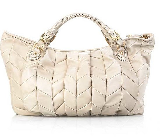 The Look For Less: Miu Miu Patchwork Leather Tote