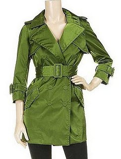 Trend Alert: Colored Trenches