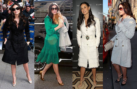 Demi Moore Promotes Her New Movie Flawless in NYC