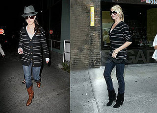 Who Wore It Better? Juicy Couture Striped Cardigan