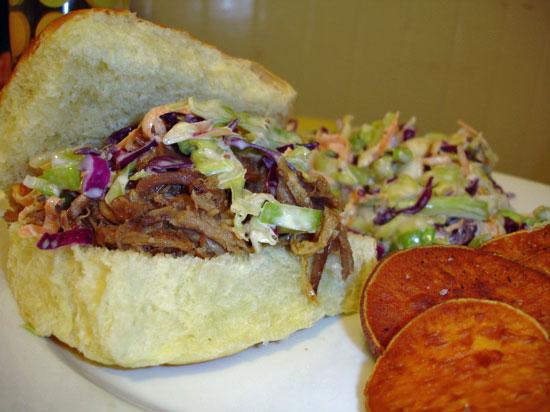 'Wich of the Week: Pulled Pork Sandwich