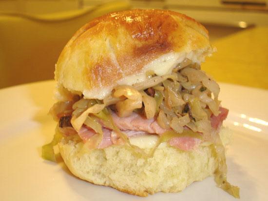 'Wich of the Week: Easter Ham Slider