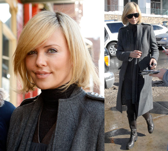 Charlize Theron at the 2008 Sundance Film Festival