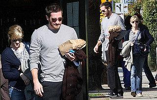 Reese and Jake Grab Breakfast in LA