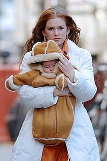 No Baby Talk for Isla Fisher
