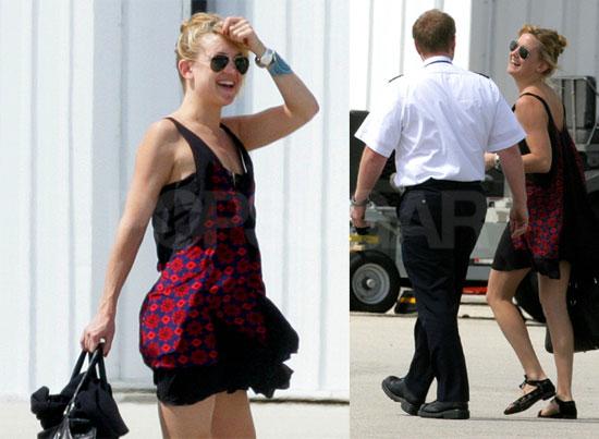 Kate's Bikini Is Packed As She Says Adios to Miami