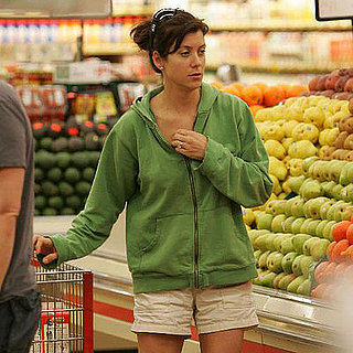 Kate Walsh and Alex Young Grocery Shopping in LA