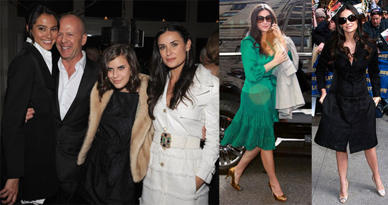 Demi Moore's Visit to The Late Show