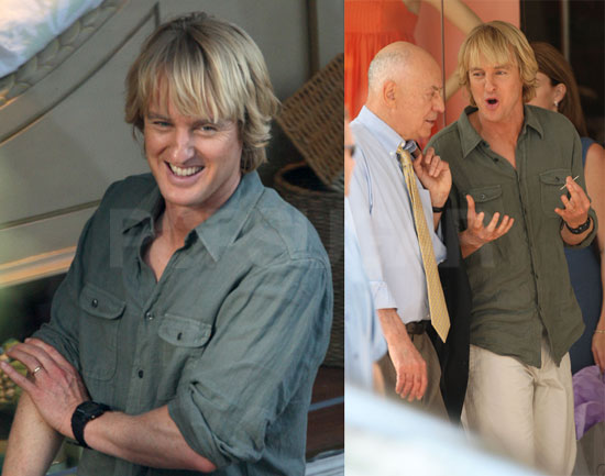 Owen Wilson Working On Marley and Me