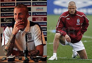 David Beckham in UK