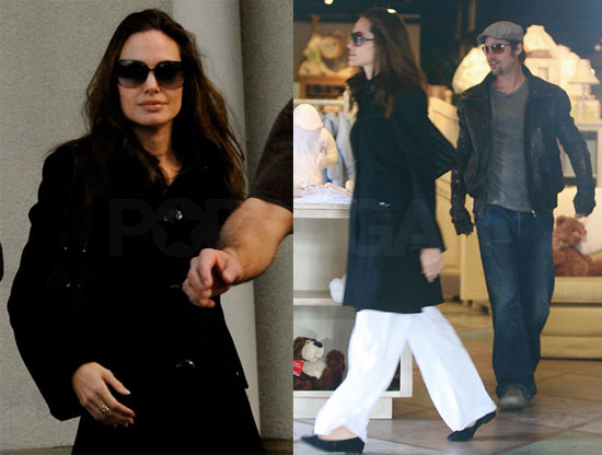Angelina Jolie and Brad Pitt Shopping in New Orleans