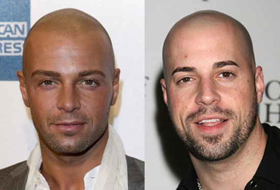 Chris Daughtry and Joey Lawrence Look Alike