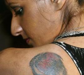 Criss Angel Tattoo
