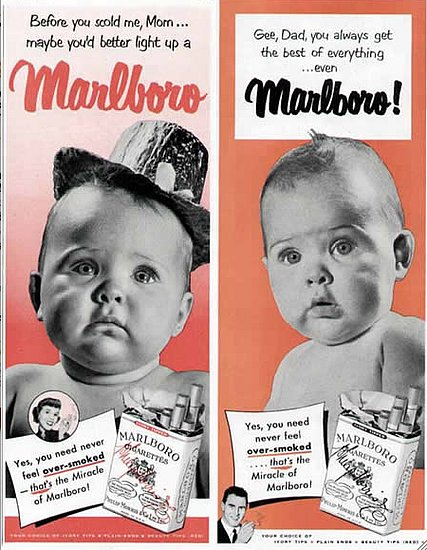 Old Cigarette Advertisements