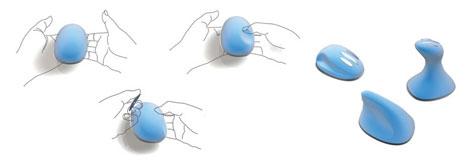 Moldable Mouse Aids Carpal Tunnel Syndrome