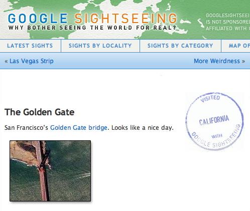 Google Sightseeing Uses Google Earth for Famous Landmarks