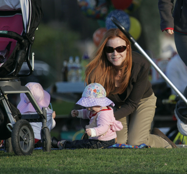 Marcia Cross Doubles Her Fun in the Sun