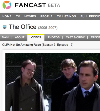 Website of the Day: Fancast