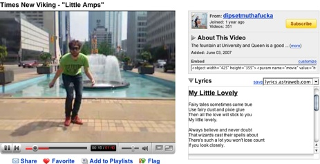 Get Song Lyrics Added to Your YouTube Videos