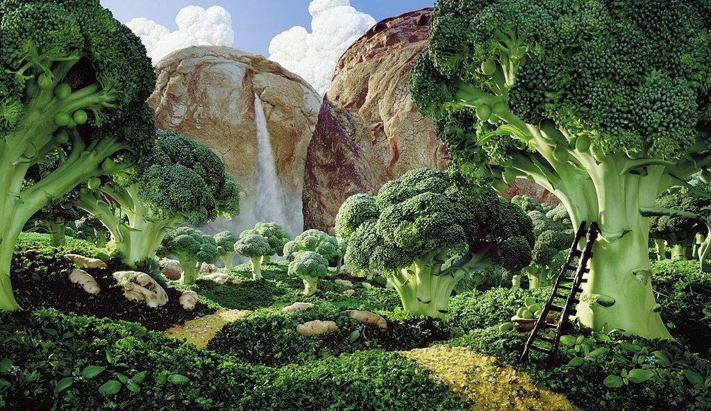 I Want to Live in a Carl Warner Foodscape