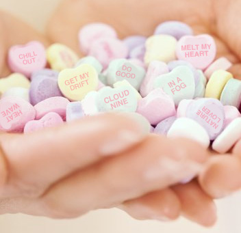 New Conversation Heart Phrases Are All About the Weather ...
