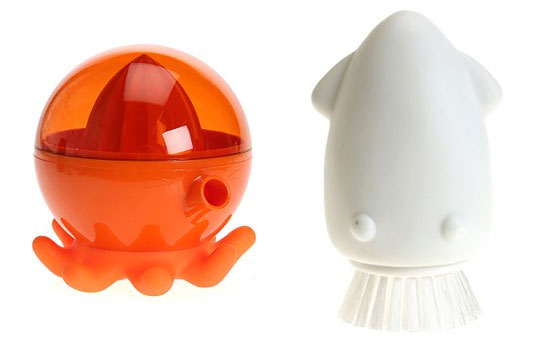 Octopus Juicer and Squid Scrub Brush: Love Them or Hate Them?