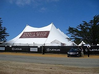 Take a Peek at Sunday's Grand Tasting Event at the First Annual Pebble Beach Food and Wine Festival