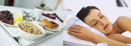 Would You Prefer a Good Breakfast or Extra Sleep?