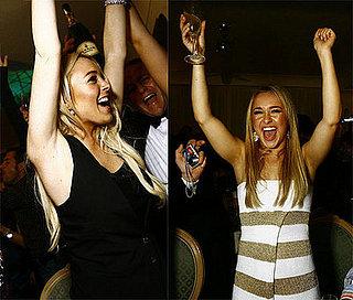 Lindsay Lohan + Hayden Panettiere on NYE = Bad News