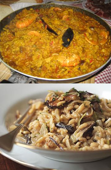 Would You Rather Eat Paella or Risotto?