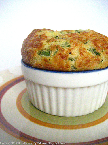Yummy Link: Leek and Gruyere Soufflé