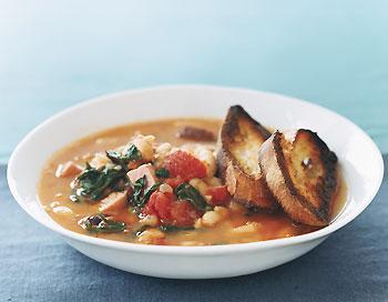 Fast & Easy Dinner: White-Bean Stew