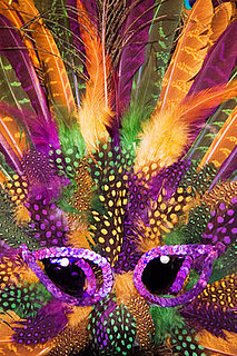 Get Flashy With Your Mardi Gras Decor