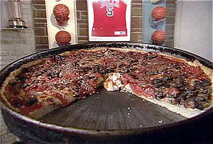 Sunday Dinner: Deep Dish Pizza