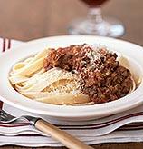 Fast & Easy Dinner: Fettucine with Bolognese Sauce