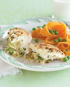 Fast & Easy Dinner: Chicken Breasts Stuffed with Couscous
