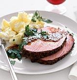 Sunday Dinner: Ginger-Aled Ham
